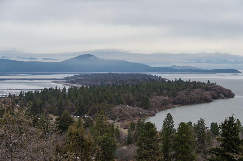 Skillet Handle peninsula, near Running Y Ranch hotel, Klamath Falls, OR