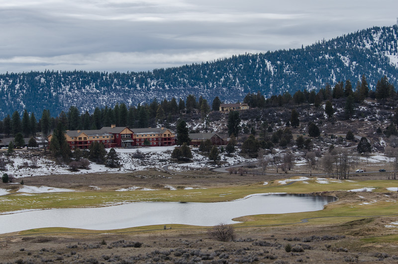 The Arnold Palmer golf course at Running Y Ranch Resort in Klamath Falls, Oregon