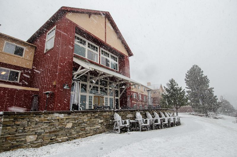 Running Y Ranch in the snow | Winter in Klamath Falls, Oregon