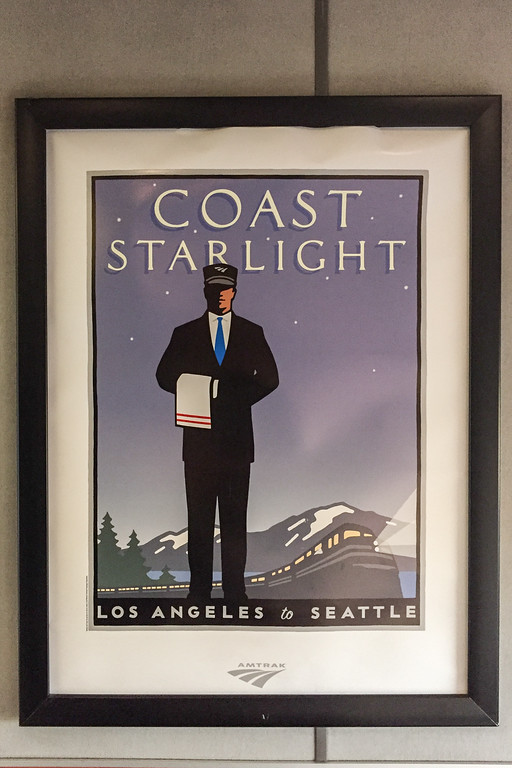 Riding the Amtrak Coast Starlight from California to Oregon