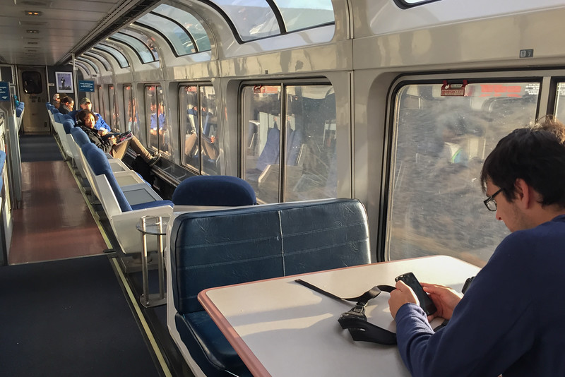 Traveling Overnight in an Amtrak Sleeper Car | Ever In Transit