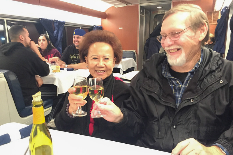 Other passengers and new friends: Riding the Amtrak Coast Starlight from California to Oregon