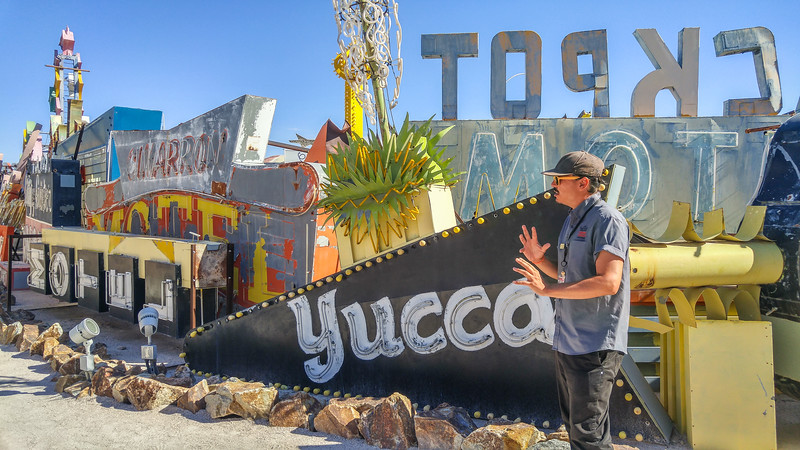 On a tour of the Neon Boneyard | Neon Museum, Las Vegas, Nevada
