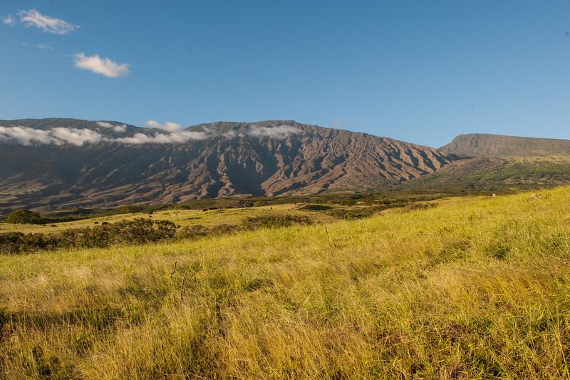 Kaupo Area (backside of Haleakala) at sunset: Road to Hana tour stops, Maui