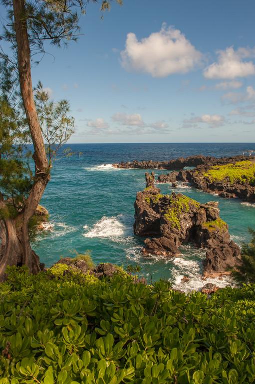 Road to Hana Tour Stops: Black Sand Beach, Maui
