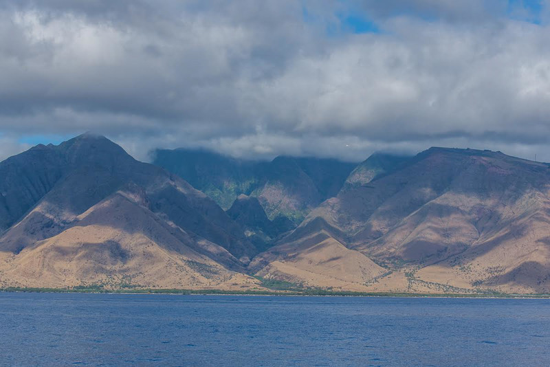 Beautiful landscapes of Maui. Captured on the Pride of Maui whale watch tour