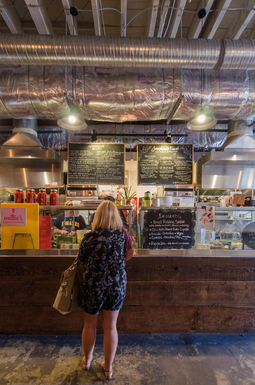 Where to Eat in Pittsburgh | Smallman Galley, a restaurant incubator and food hall in Pittsburgh, PA