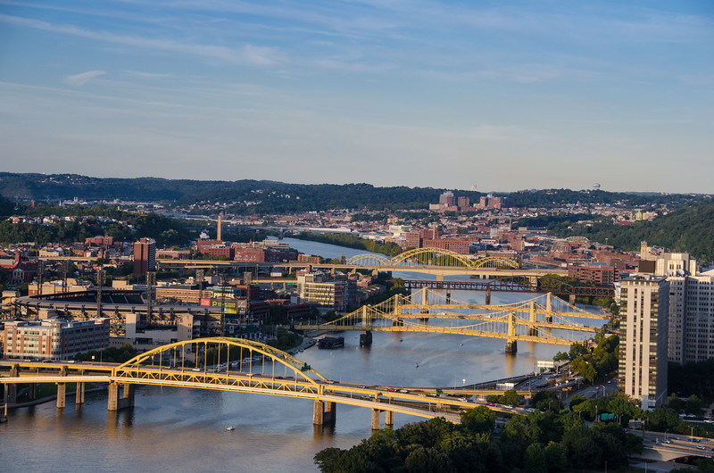 "Pittsburgh is the ""City of Bridges"" with 446 bridges across the city."
