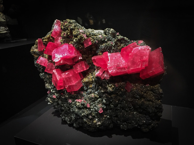 Mineral and Gem Exhibit at the Carnegie Museum of Natural History
