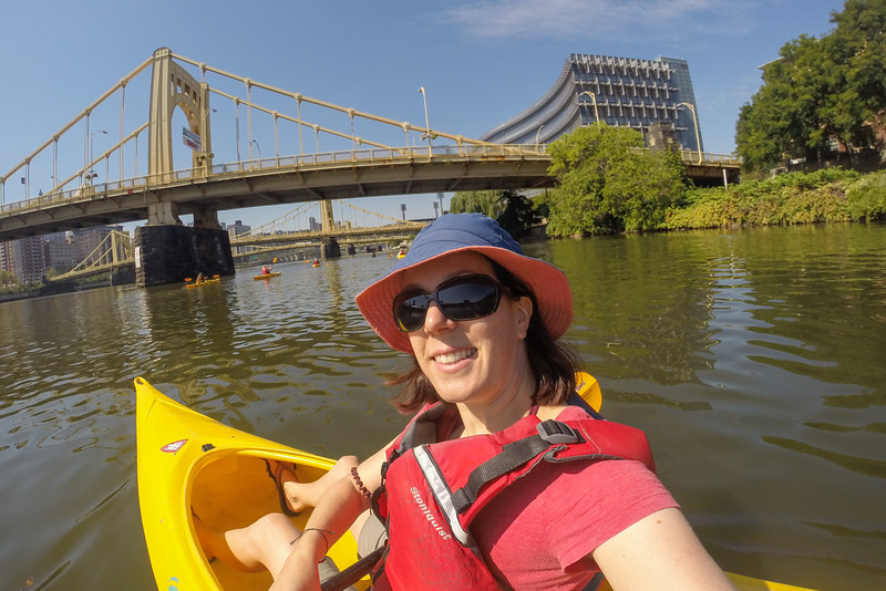 On a kayak tour of Pittsburgh: On the water with Kayak Pittsburgh