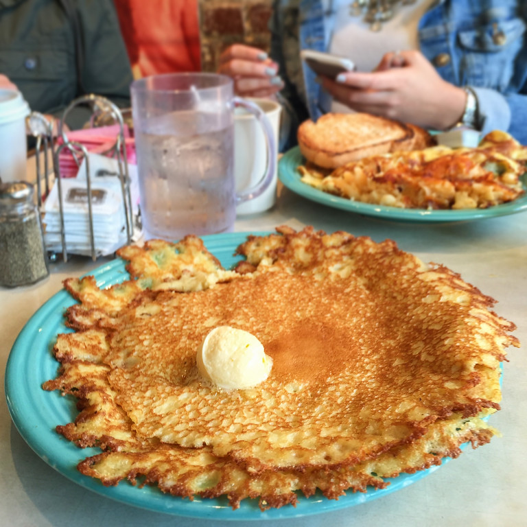 Where to Eat in Pittsburgh | Pamela's P&G Diner and their famous crepe pancakes