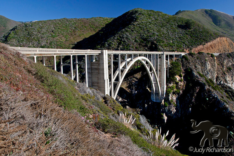 Bixby Bridge along Big Sur Coastline