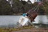 Sinking boat at Moss Landing  ~ 10-10-2012