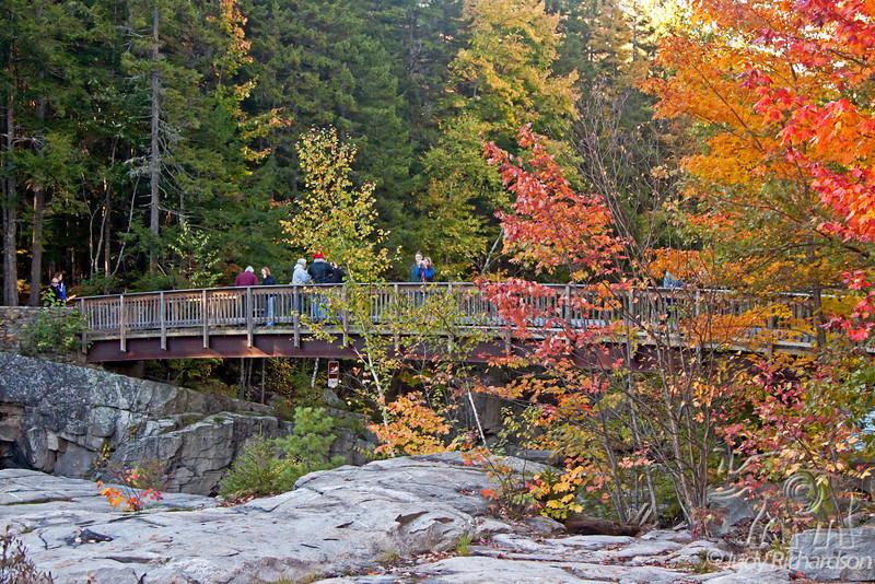 Rocky Gorge bridge over Swift River