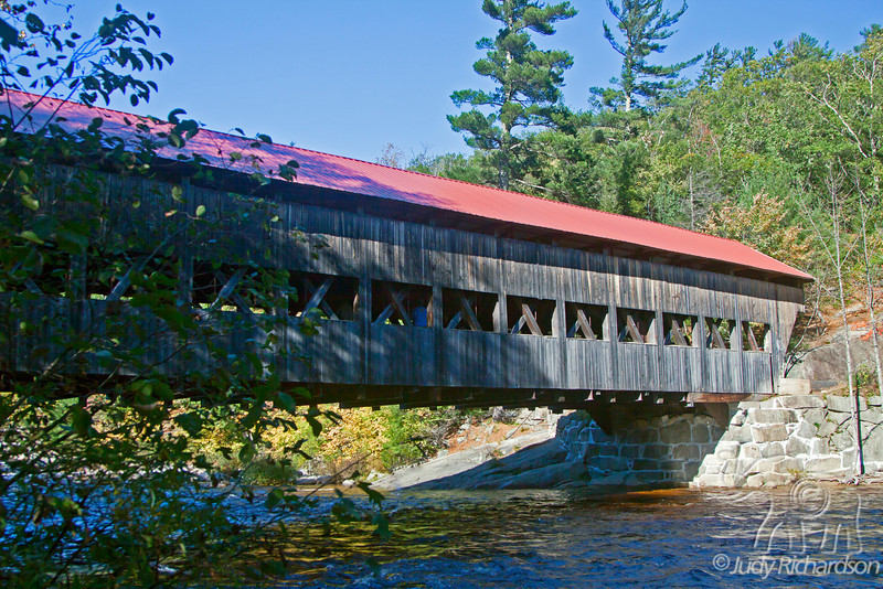 Swift River bridge outside Conway, New Hampshire