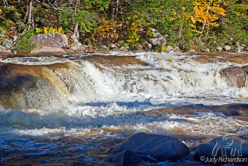 Rocky Gorge scenic area falls off The Kancamagus Highway