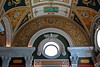 Library of Congress, Thomas Jefferson Building, Ceiling Artwork & Portholes for light