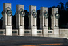 World War II Memorial ~ Each state is represented by a column & wreath