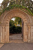 Marble Arch entrance into the Bishop's Garden at the Washington National Cathedral site