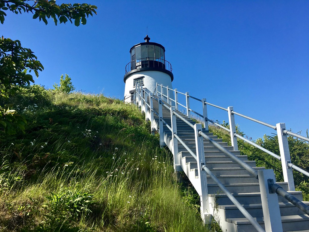 Owls Head Light in Owls Head Maine
