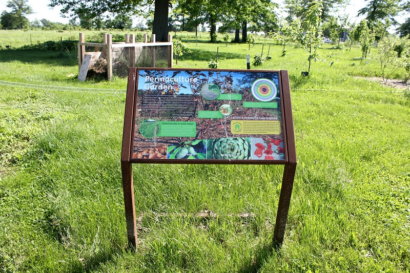 permaculture garden at Duke Farms in Somerset County, New Jersey
