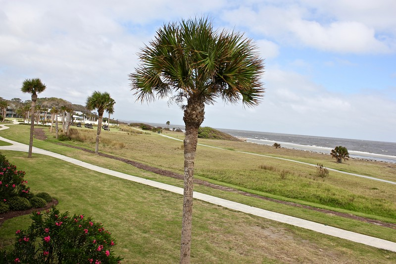 the rear of the Holiday Inn Resort Jekyll Island