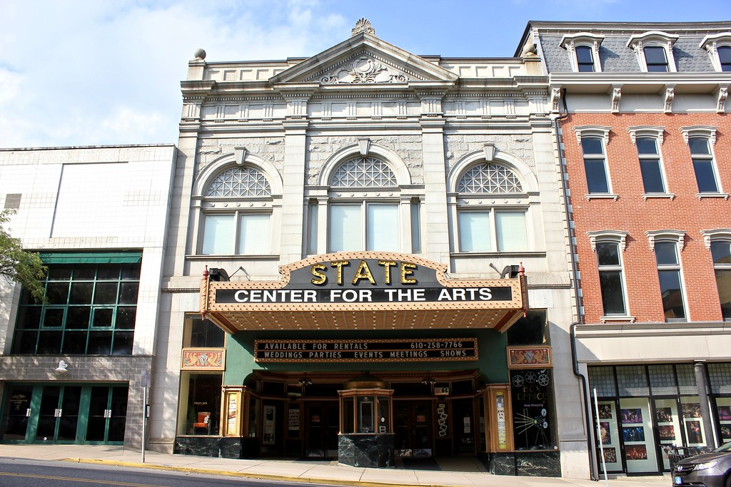 The State Theatre in Easton, PA