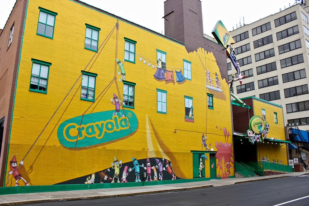 the Crayola Experience in Easton, PA