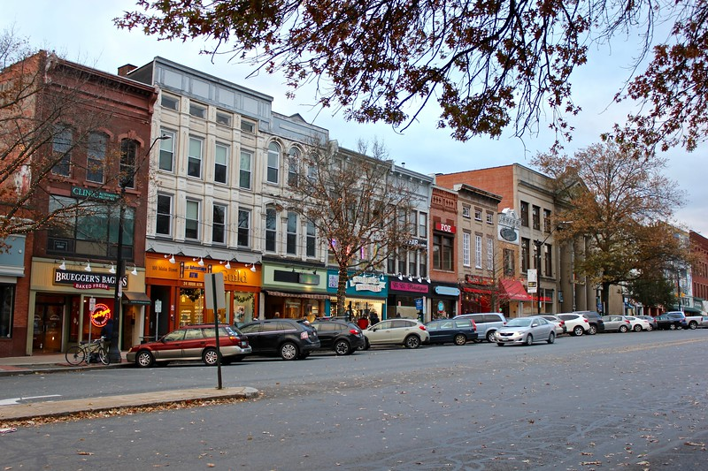 Main St. in Northampton, Massachusetts
