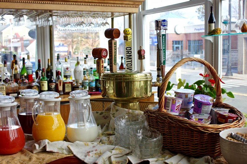 Coolidge Park Café at the Hotel Northampton in Northampton, Massachusetts