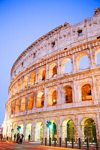 #ColosseumSunset