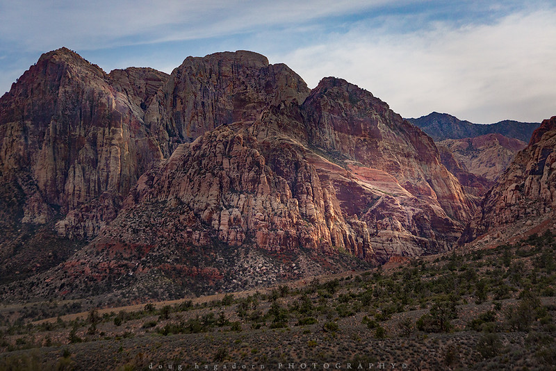 The Hills of Red Rock