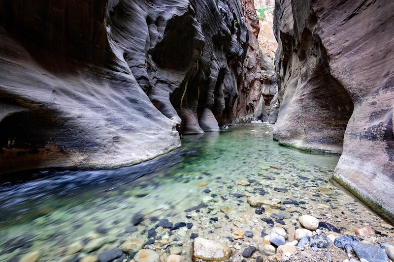 The Narrows at Zion National Park, Utah