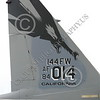F-15ANG 00003 Tail of California ANG 144 FW McDonnell Douglas F-15 Eagle jet fighter commanding officer's airplane 84014 3-2015 military airplane picture by Peter J Mancus