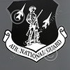 SWCI 00029 Subdued Air National Guard insignia on California ANG 144 FW F-15 Eagle jet fighter 3-2015 military airplane picture by Peter J Mancus
