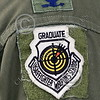 ACM 00126 This GRADUATE USAF FIGHTER WEAPONS SCHOOL patch worn by a full colonel California ANG F-15 Eagle jet figher pilot means he earned a PhD in how to be a professional aerial assassin, by Peter J Mancus