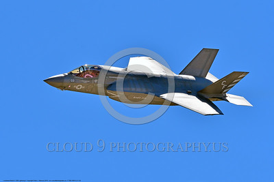 F-35B-VMFA-211 00004 A flying Lockheed Martin F-35B Lightning II USMC 168339 stealth jet fighter VMFA-211 AVENGERS CF code 9-2016 military airplane picture by Peter J  Mancus
