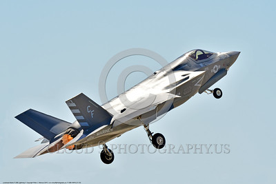 F-35B-VMFA-211 00002 A dynamic Lockheed Martin F-35B Lightning II stealth jet fighter USMC VMFA-211 AVENGERS in afterburner take-off MCAS Miramar 9-2016 military airplane picture by Peter J  Mancus