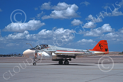 A-6USMC 00161 A taxing Grumman A-6 Intruder USMC 159905 VMAT(AW)-202 DOUBLE EAGLES KC code MCAS Yuma 9-1978 military airplane picture by Michael Grove, Sr