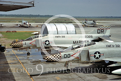 F4USMC 00011 VMFA-312  29 May 1967 by Clay Jansson