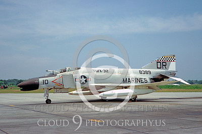 F4USMC 00071 VMFA-312 29 May 1967 by Clay Jansson