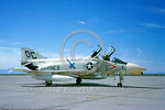 F-4II-USMC-VMFA-122 0003 A static McDonnell Douglas F-4B Phantom II USMC jet fighter 151443 VMFA-122 CRUSADERS DC code 4-1966 military airplane picture by Clay Janson     DONEwt