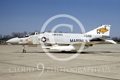 F4USMC 00018 VMFA-513 18 April 1970 by Frank MacSorley