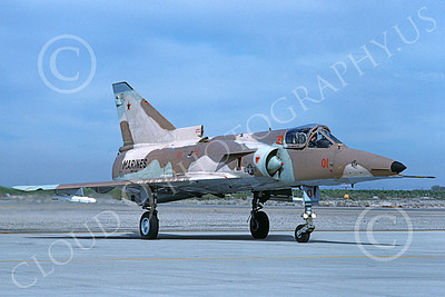 F-21-USMC 00033 A taxing Israeli Aircraft F-21 Kfir jet fighter USMC 999731 VMFT-401 SNIPERS MCAS Yuma 2-1989 military airplane picture by Mick Roth