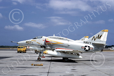A-4USN 00115 A USN Douglas A-4 Skyhawk attack jet, 154194 VA-192 GOLDEN DRAGONS USS Oriskany 4-1969, airplane picture, by Duane A Kasulka