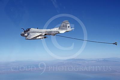 KA-6DUSN 00084 A flying Gruman KA-6D Intruder USN 152624 VA-34 BLUE BLASTERS 10-1983 military airplane picture by Robert L Lawson