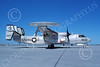 E-2USN 00137 A taxing Grumman E-2C Hawkeye USN 160697 VAW-123 SCREWTOPS USS America NAS Fallon 10-1983 military airplane picture by Michael Grove, Sr