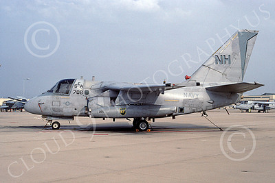 S-3USN 00035 A static Lockheed S-3 Viking USN 160158 VS-29 TROMBONERS USS Abraham Lincoln NAS North Island 2-1995 military airplane picture by Ken Twitchell