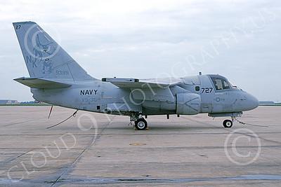 S-3USN 00067 A static Lockheed S-3 Viking USN 159399 VS-35 BOOMERANGERS NAF Washington 5-2003 military airplane picture by Joe Mitchell