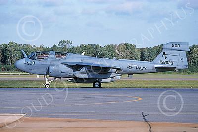 EA-6BUSN 00393 A taxing Grumman EA-6B Prowler USN 158029 VAQ-209 STAR WARRIORS 10-2004 military airplane picture by David F Brown